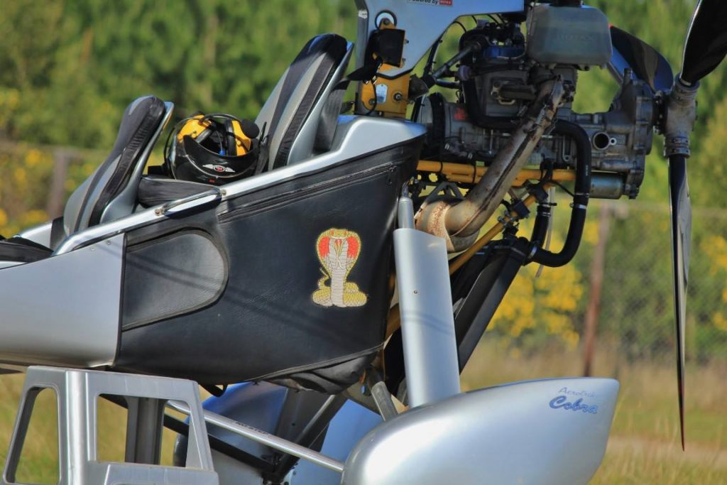 Microlight Close Up